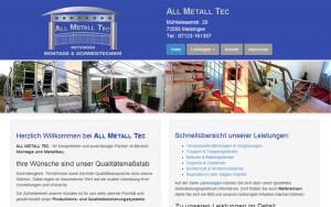 Website ALLMETALLTEC