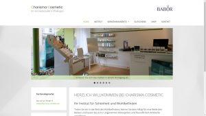Charisma Cosmetic Website