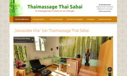 Thai Massage Sabai Tübingen