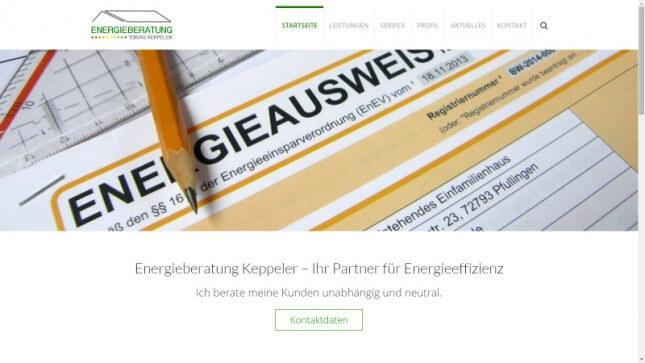 Energieberatung Keppeler | Reutlingen & Pfullingen