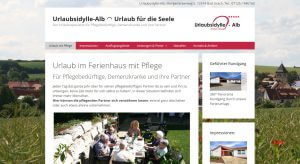 Website - Urlaubsidylle-Alb