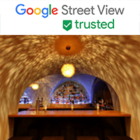 Googlr Street View trusted Logo