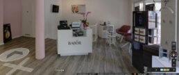 360 Grad Panorama Kosmetikstudio