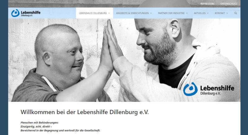Homepage erstellen lassen - Lebenshilfe
