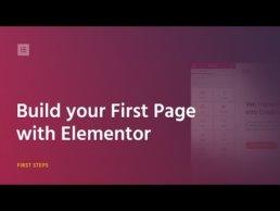 Wordpress Plugin - Elementor