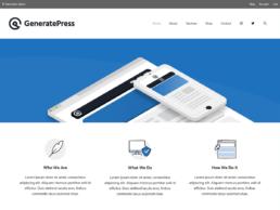 Wordpress Theme - GeneratePress