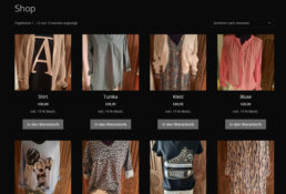 Siegmund Webdesign Reutlingen - Online Shop