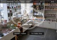 Webdesign Entwicklung - Teelädle Reutlingen