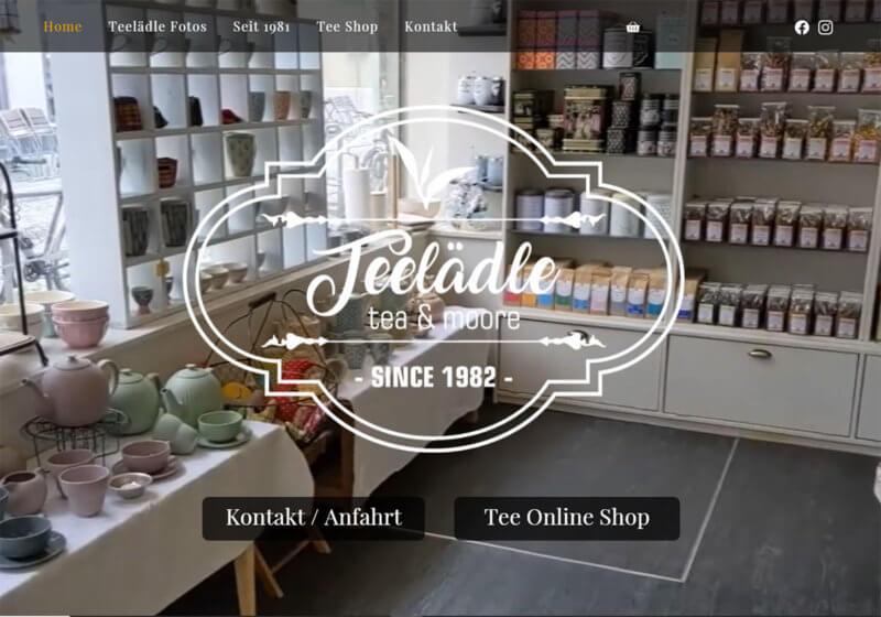 Webdesign Reutlingen - Teelädle